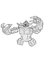 Раскраска - LEGO Нексо Найтс - Lego Nexo Knights Спаркс