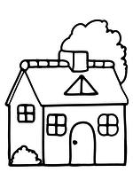 Раскраска Дом