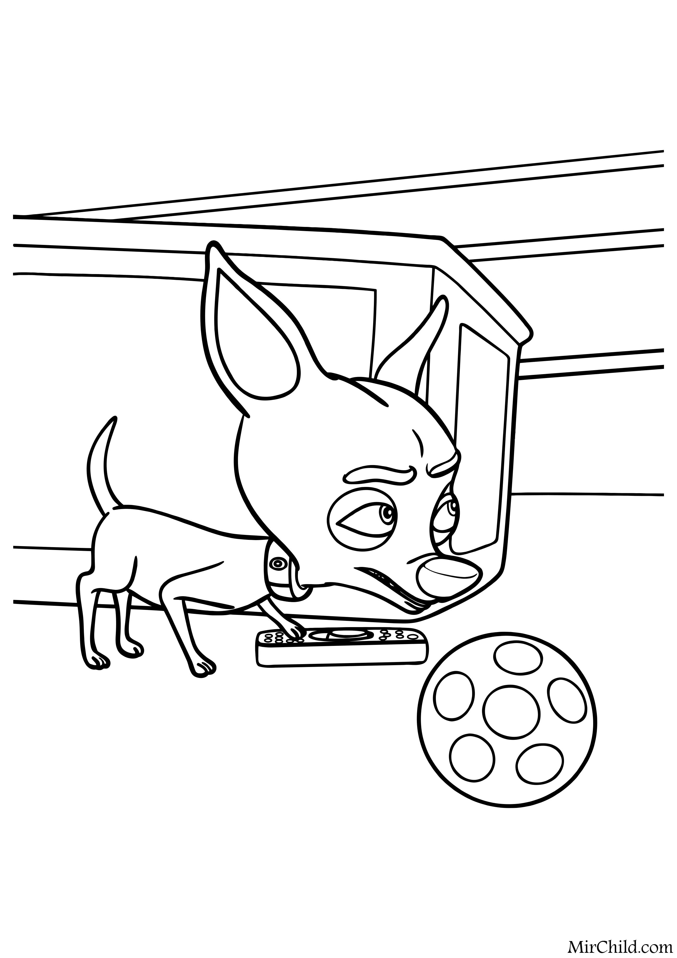 Картинка раскраска самовар для детей 56