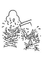 Раскраска - Капитан Подштанник: Первый эпический фильм - Гарольд Хатчинс и Джордж Бирд по точкам