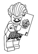 раскраски лего человек паук лего