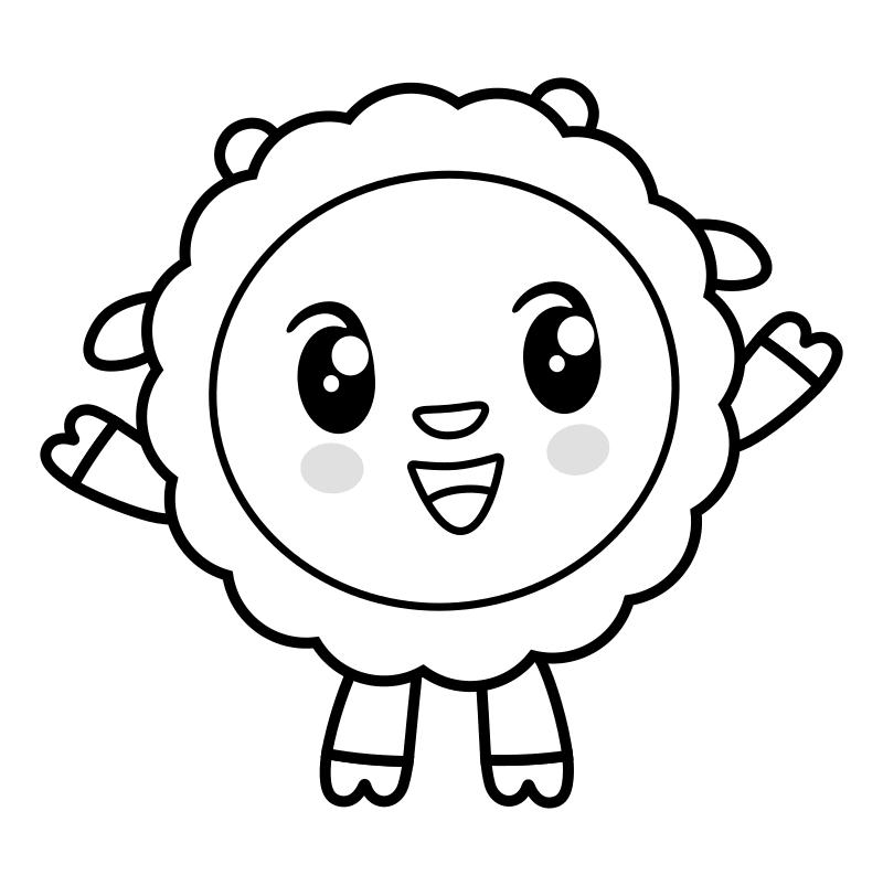 учетом рисунок малышарики карандашом можно обнаружить всех