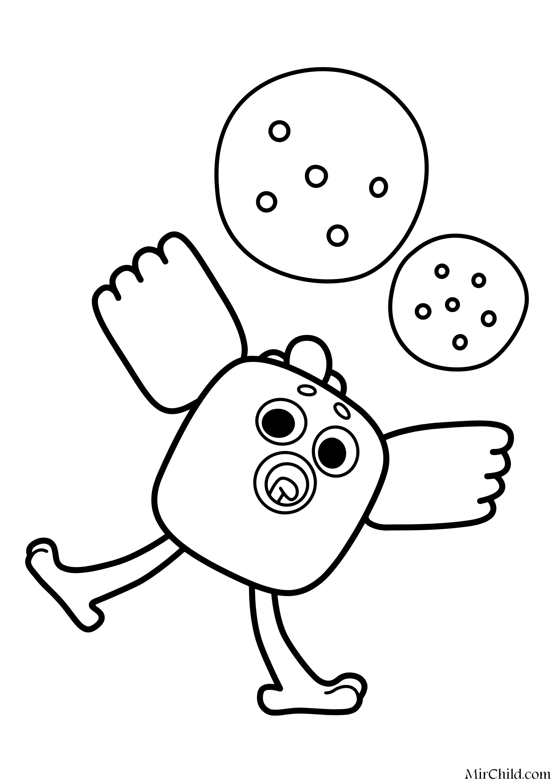 раскраска ми ми мишки игра цыпы Mirchild