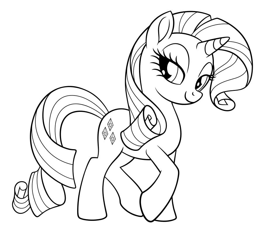 Раскраска - My Little Pony в кино - Моя маленькая пони ...