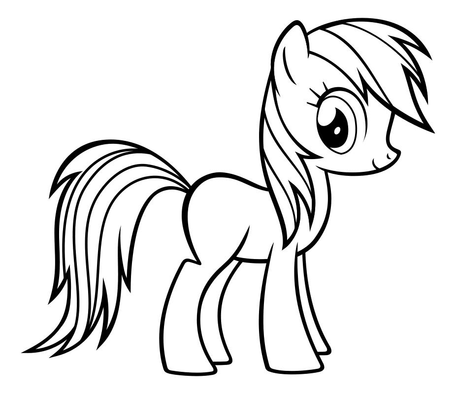 Раскраска - My Little Pony в кино - Мой маленький пони ...