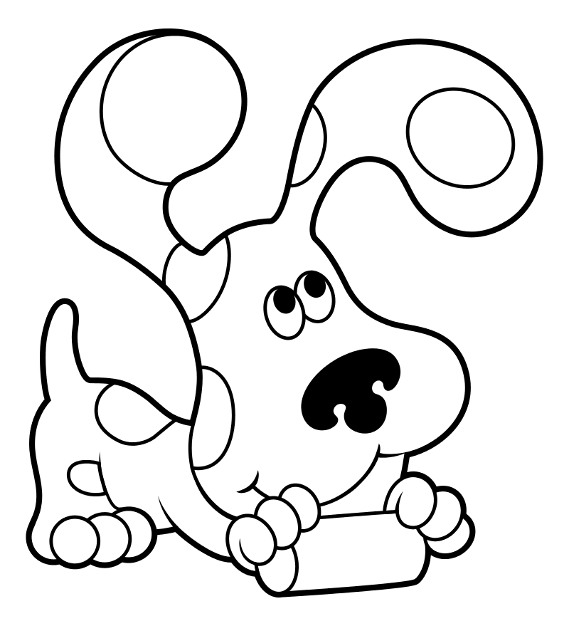 Раскраска - Подсказки Бульки - Собака Маркиза | MirChild