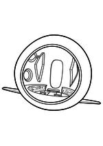 Раскраска - Приключения мистера Пибоди и Шермана - Машина времени Вейбек