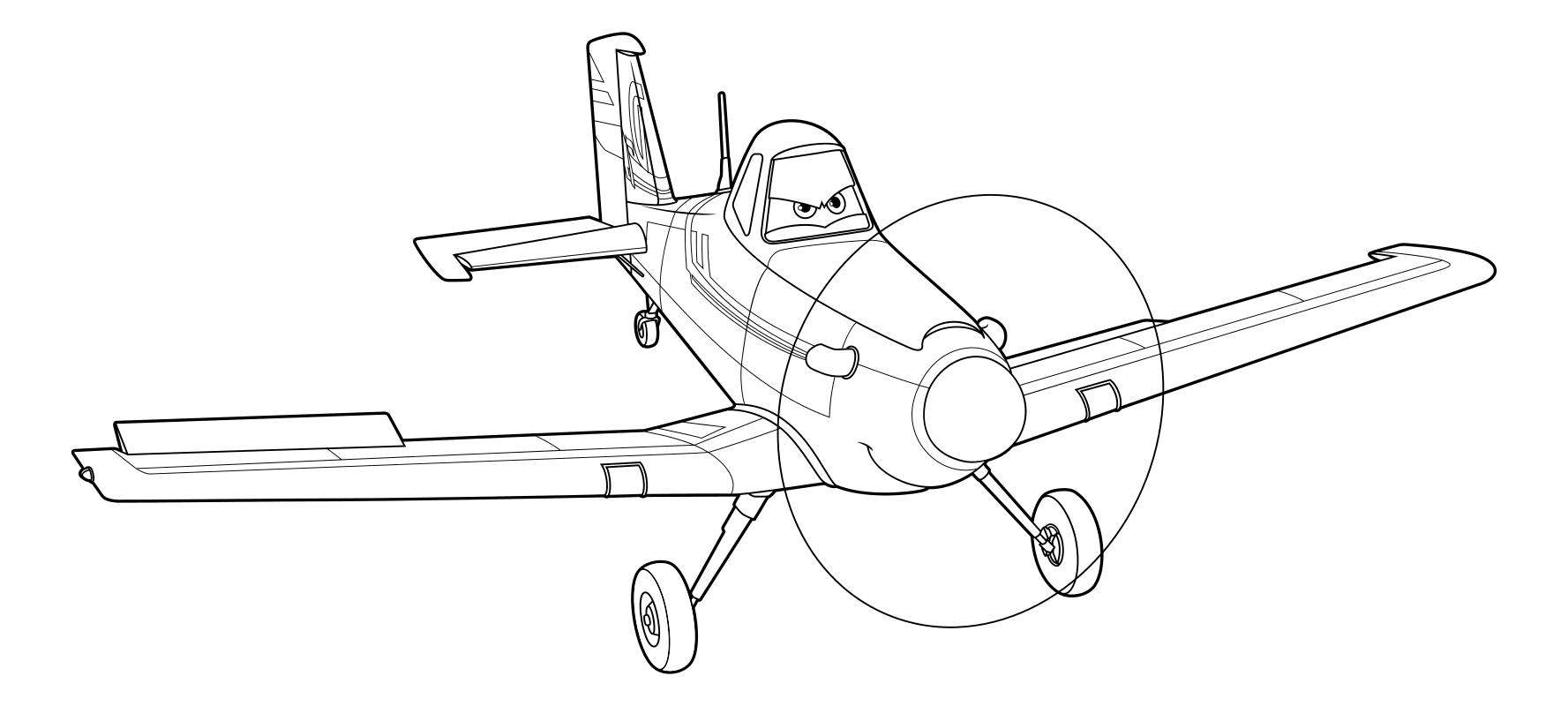 Раскраска самолет для мальчиков распечатать