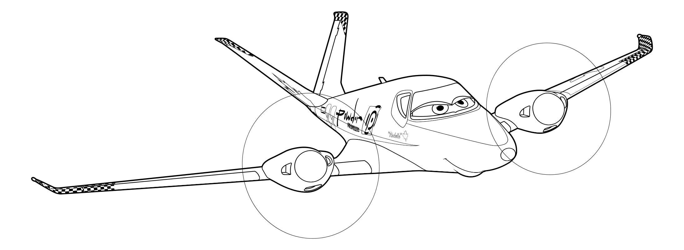 Раскраска самолетов 138