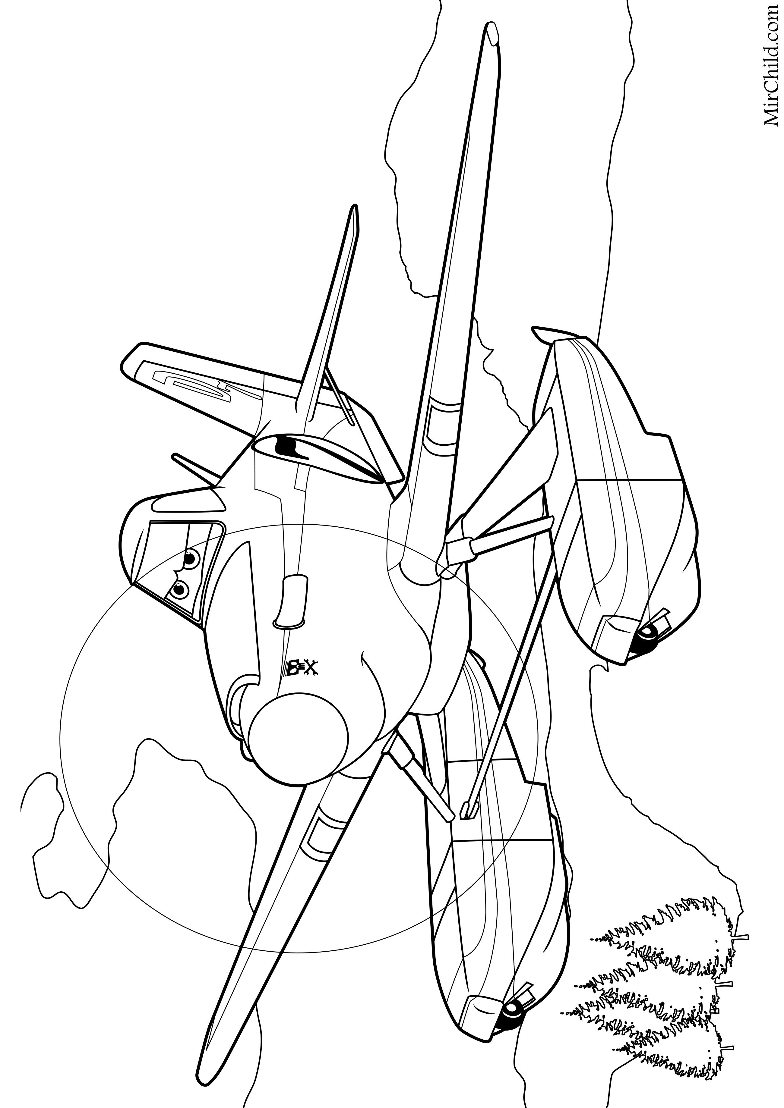 раскраска самолёты огонь и вода дасти полейполе Mirchild