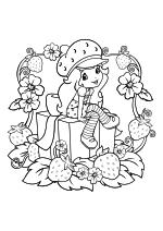 Раскраска - Шарлотта Земляничка: Ягодные приключения - День рождения Шарлотты Землянички