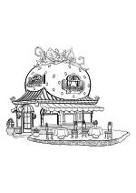Раскраска - Шарлотта Земляничка: Ягодные приключения - Земляничное кафе