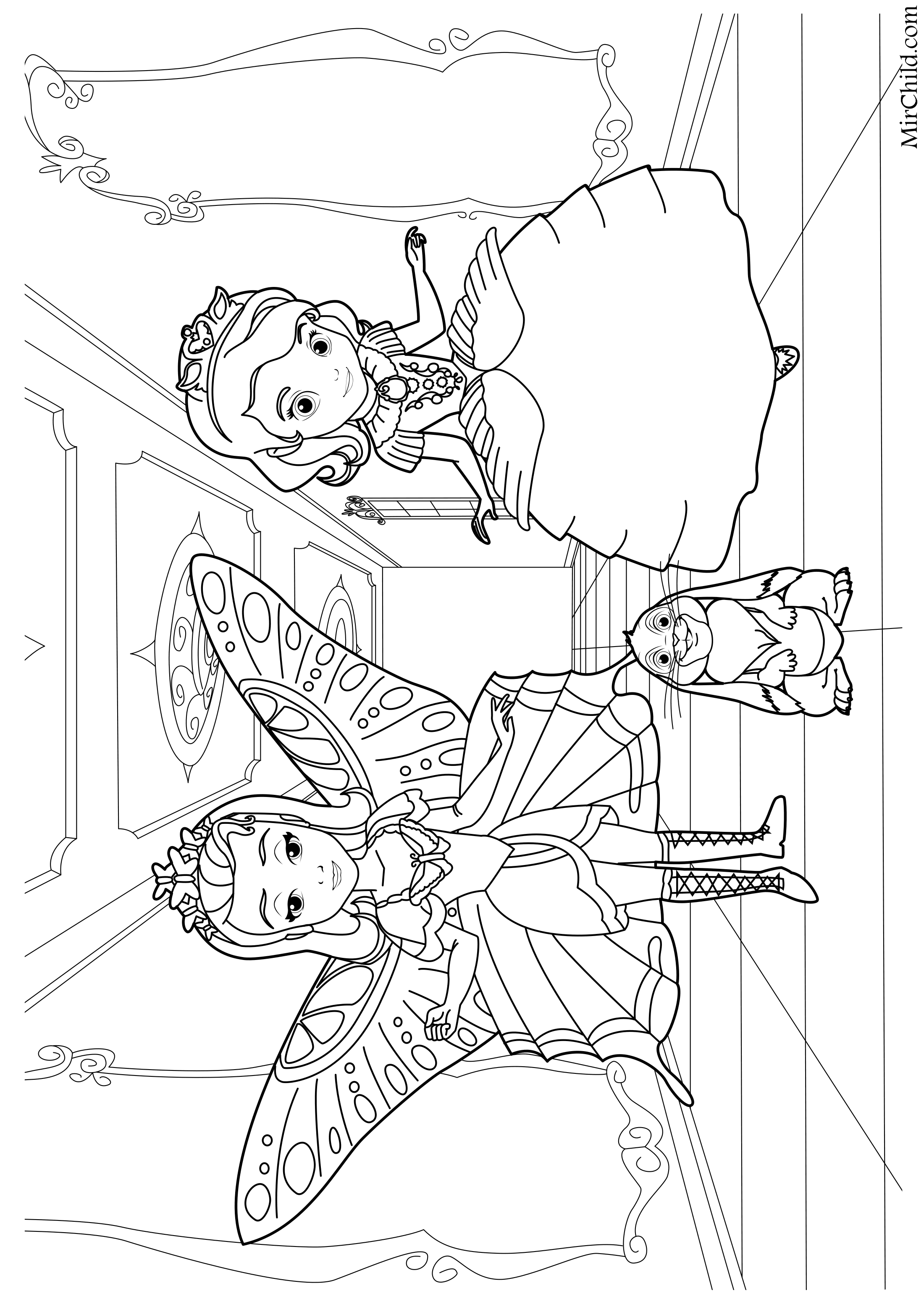 Coloring pages elena avalor sketch coloring page for Elena of avalor coloring pages