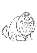 Раскраска - Тайная жизнь домашних животных - Пёс Дюк