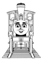 Раскраска - Томас и его друзья - Бэш