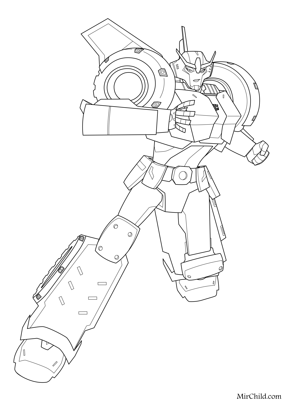 Raskraska Transformery Roboty Pod Prikrytiem Strongarm Mirchild