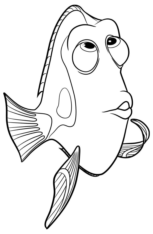 Скрытым, картинки а4 для печати рыбка