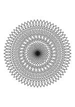 Раскраска - Мандалы - Мандала 2
