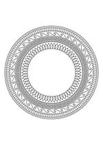 Раскраска - Мандалы - Мандала 6