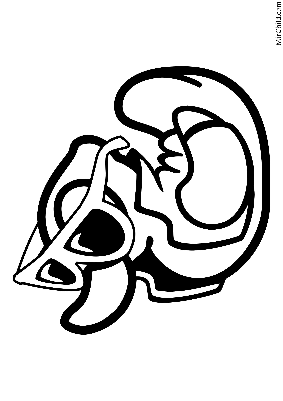 Раскраска - Крокодильчик Свомпи - Стильная Уточка | MirChild