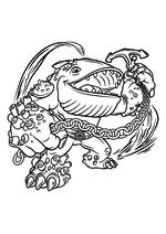 Раскраска - Скайлендеры - Гиганты - Тампбак