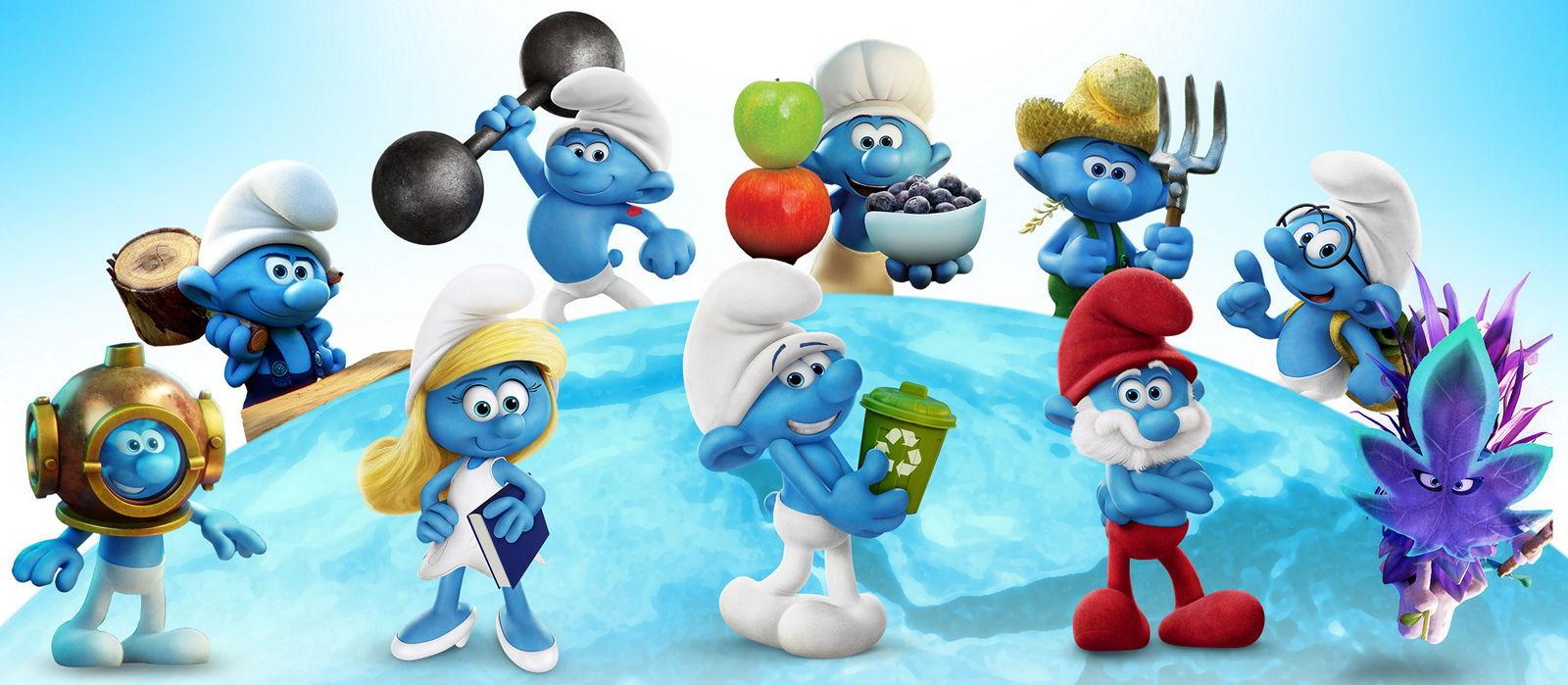 Раскраски - Мультфильм - Смурфики: Затерянная деревня (Smurfs: The Lost Village)